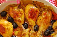 Cuchillito y Tenedor: Cazuela de pollo especiado picante.