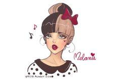 dibujos de melanie martinez - Buscar con Google