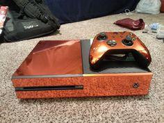 Xbox One Skin Bronze