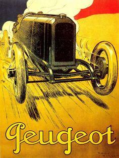 Peugeot 1919 - Mad Men Art: The 1891-1970 Vintage Advertisement Art Collection