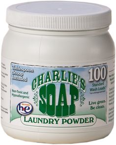 "Amazon.com: Charlie's Soap ""Laundry Powder"" 2.64 lbs (FFP): Health & Personal Care"