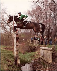 Jimmy Wofford on Castlewellan  Love this shot! Since I rode with Karen and Karen rode with Jimmy does that make him my grand-trainer?
