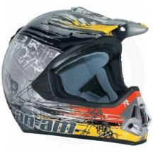 Can-Am CAN-AM ATV PRO CROSS MECHANITUNE HELMET from JESCO MARINE AND POWER SPORTS