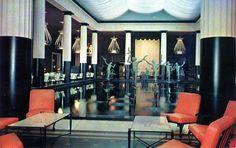 The Metropolitan Museum of Art cafe. Photo: circa 1960s.