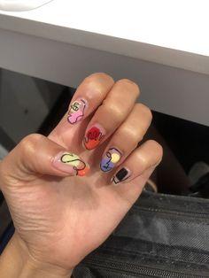 I put my nail polish like a pro! - My Nails Nail Swag, Cute Acrylic Nails, Acrylic Nail Designs, Aycrlic Nails, Hair And Nails, Nagellack Design, Fire Nails, Minimalist Nails, Nagel Gel