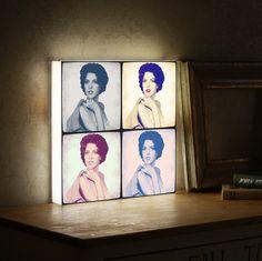 #LightArtBox #POPArt #AndyWarhol #amazinggift #originalgift #Uniquegift #unusualgift #uncommongift