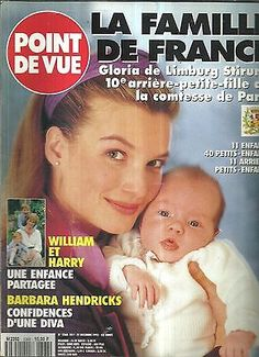 + Point de vue N°2368 La famille de France,William et Harry,Barbara Hendricks in Livres, BD, revues | eBay