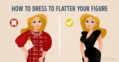How to use clothes to accentuate your best features and hide imperfections