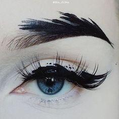 The blue eye.  #eye makeup #Ida-Elina #blueeye