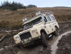 Land Rover Series 3 Stage One.. Powered by ROVER V8.