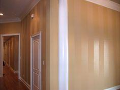 Zack's Room - Sheen Striping.    Example in Orange