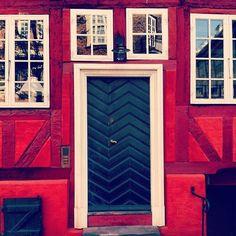 Colorful doors in Copenhagen   Lonny.com