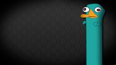 My Free Wallpapers Cartoons Wallpaper Perry the Platypus