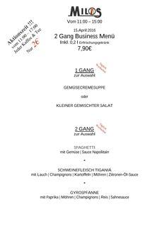Freitag Mittag im Milos   Milos Wein Restaurant  www.milos-muenchen.de #Mittagskarte #Mittagsmenu #Businesslunch #Milos #Wein #Restaurant #Muenchen #Neuhausen #Grieche #griechischesrestaurant