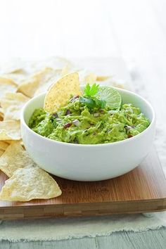 Guacamole Guacamole  Ingredients 4 Hass   Avocados, peeled and seeded  1 1/2 Tbsp fresh lime juice  1/2 tsp salt  1/4 tsp   freshly ground black pepper  1/4 cup + 2 Tbsp finely chopped red onion  1 large   Roma tomato, seeds and pulp removed then diced  1 clove garlic, minced  2 Tbsp   chopped cilantro  1/8 - 1/4 tsp cayenne pepper