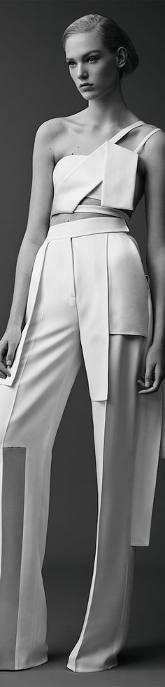iconic all white jumpsuit