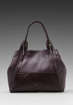 f56d637903 Pour La Victoire Nouveau Tote in Plum Shopper Bag