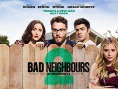 Rose Byrne, Seth Rogen, Zac Efron, and Chloë Grace Moretz in Neighbors 2: Sorority Rising (2016)