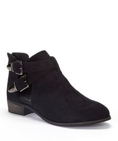 Take a look at this Black Jennifer Ankle Boot on zulily today!