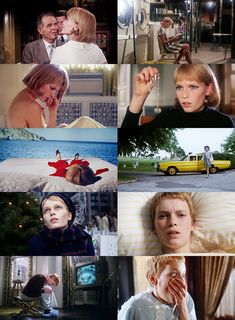 Rosemary's Baby. Such a classic. Mia Farrow was so perfect in this role!