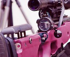 colton's trusty sniper rifle