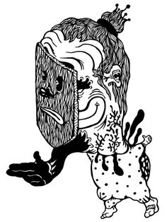 Gabriel Tiongson Base Jump ink on paper © 2010 Gabriel, Playing Cards, Base, Ink, Archangel Gabriel, Playing Card Games, India Ink, Game Cards, Playing Card