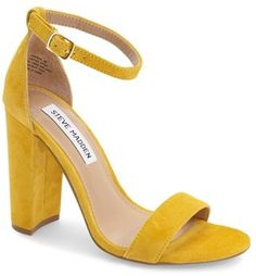 love these heels in this shade of yellow