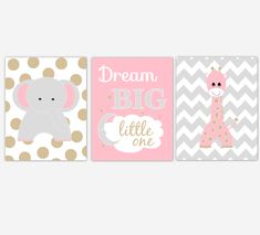 Personalized Baby Nursery Decor & Gifts – Canvas & Wall Art Prints – Baby Blankets – Kids Bed and Bath Wall Art Elephant Nursery Art, Baby Boy Nursery Decor, Baby Girl Elephant, Animal Nursery, Woodland Nursery, Baby Boy Nurseries, Nursery Wall Art, Giraffe, Baby Prints