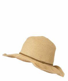 Seafolly - Damen Hut / Sonnenhut Coyote Hat natural #seafolly #festival #hut