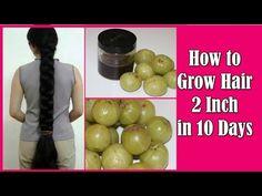 Magical Hair Growth Treatment   7 Day Hair Challenge, get long hair (Asian Hair Growth Secret) - YouTube