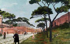 Piranesi Prix de Rome's Imperial Forum competition, David Chipperfield Architects