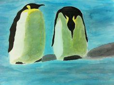 Pinguins, por Camila Barbieri
