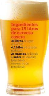 Si querés probar el verdadero sabor del encuentro, toma nota de esta receta y llena tu heladera de birra casera. All Beer, Beer Bar, Wine And Beer, Beer Recipes, Drinks Alcohol Recipes, Beer Brewing, Home Brewing, Brew Pub, How To Make Beer