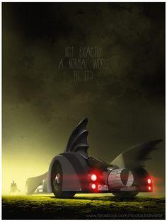 Batmobile by Nicolas Bannister