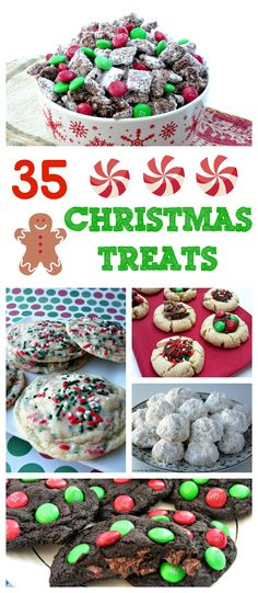 35 Christmas Treats (and a Giveaway!)