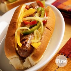 Grilled sausage on a bun makes a delicious summer dinner, but sometimes the casing shrinks and curls up, making it tough to fit the sausage into the bread. To the rescue: this trick from our test kitchen director, which makes curling links a thing of the past!