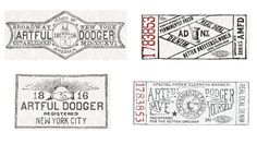 Artful Dodger 2010/2011 by Glenn Wolk, via Behance