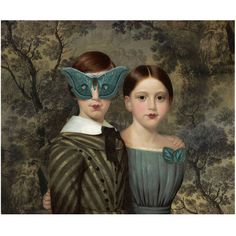 Blue Moth Butterfly Print Digital Art Blue Grey Surreal Home Decor (€19) ❤ liked on Polyvore featuring home, home decor, wall art, photo wall art, twin pack, personalized photo wall art, blue home decor and girls wall art
