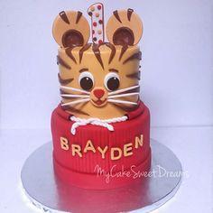 Daniel Tiger 1St Birthday Cake