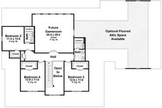 Plan W51118MM: Country Beauty with Wraparound Porch - Floor 2