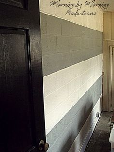 How To Paint U0026 Waterproof Basement Walls | Por Mi Casa... | Pinterest | Basement  Walls, Basements And Walls