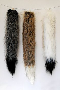 Grey Wolf Tail Inspired by Where the Wild Things by Babycricket                                                                                                                                                                                 More