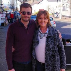 Fan Picture – Jamie with Jillian [X] Thanks to Jillian Paden | Jamie Dornan News