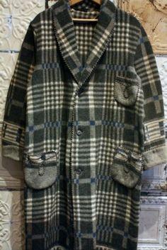 Wool Blanket Gown
