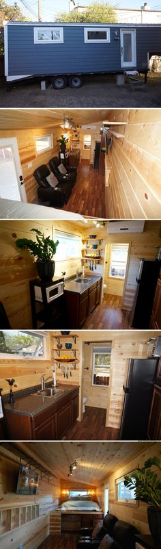 A 240 sq ft tiny house, currently available for sale in Pasadena, CA