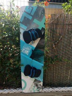 Tavola glide 149 slinghshot pari al nuovo completa di Pad slinghshot pinne e maniglia!!! - www.kiteordie.it