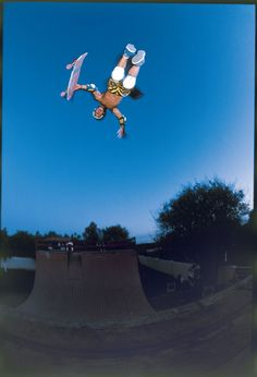 "Christian Hosoi "" The Christ Air"" hard core old school skating"