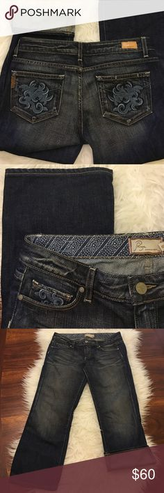 "Paige Jeans Capri Adorable pockets! Great condition! 23"" Inseam (B3) Paige Jeans Jeans Ankle & Cropped"