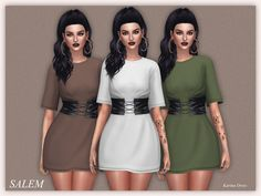 Lana CC Finds - Karina Dress by Salem C.