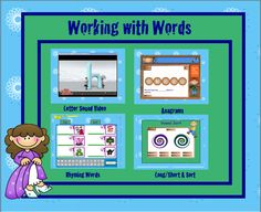 Cheryl's Classroom Tips: More Literacy Activities for SMART Board for Word Work